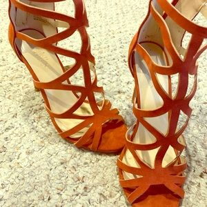 🛍2 for 15🛍 Rust Strappy High heel